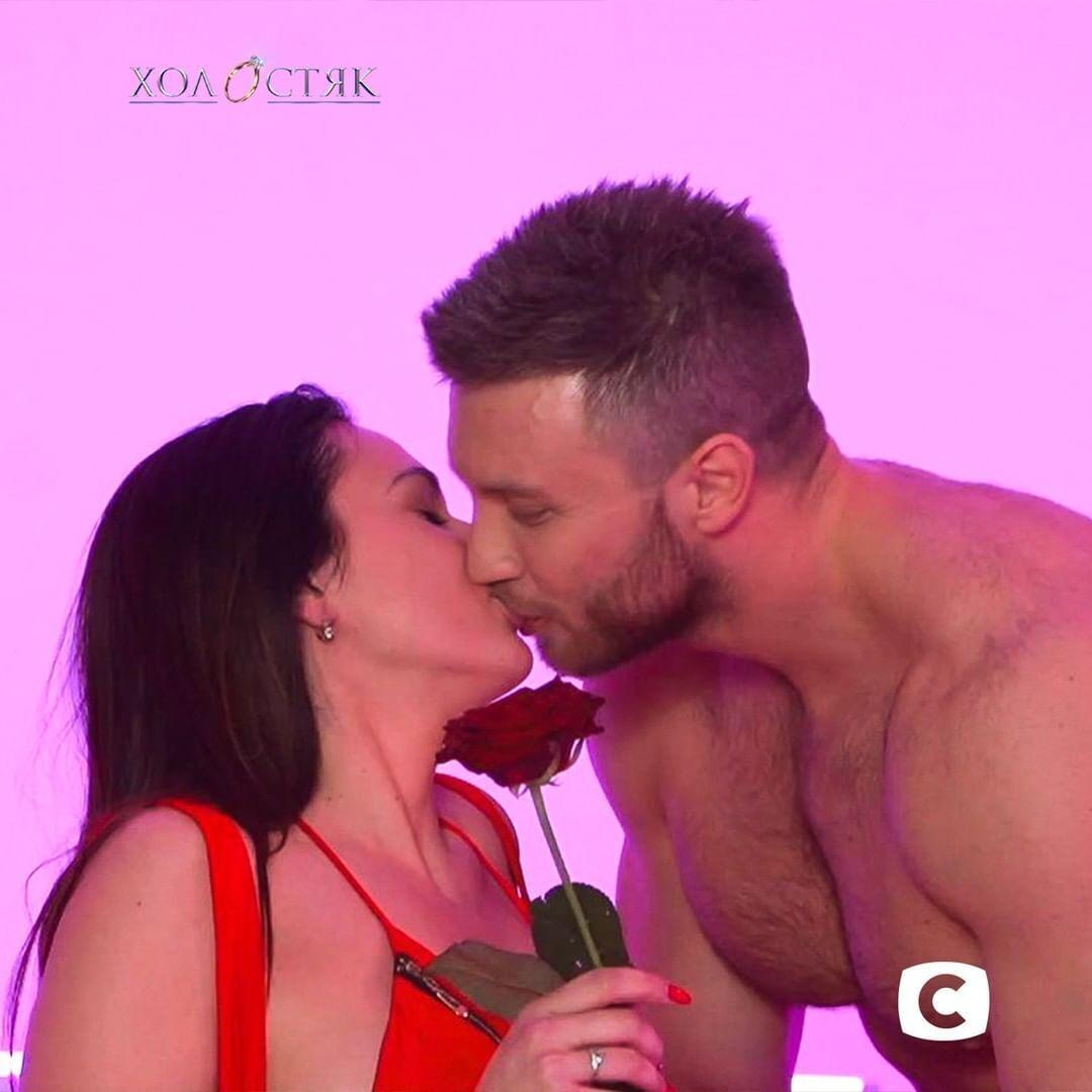 Поцелуй Заливако и Джессики