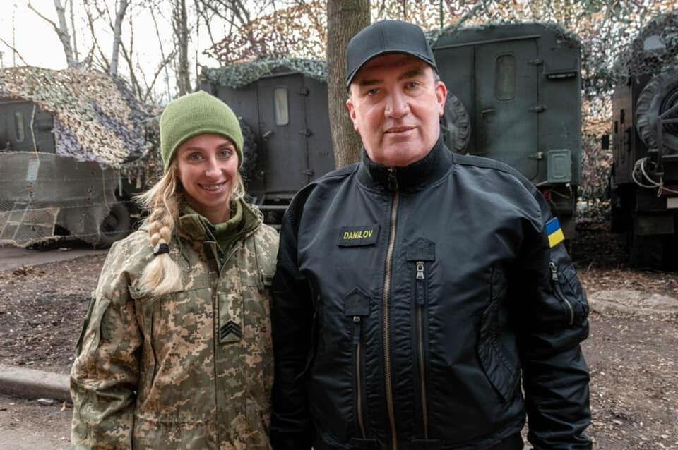 Светлана Землина и Алексей Данилов