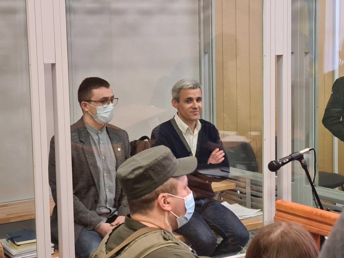 Сергей Стерненко и Руслан Демчук в Одесском апелляционном суде