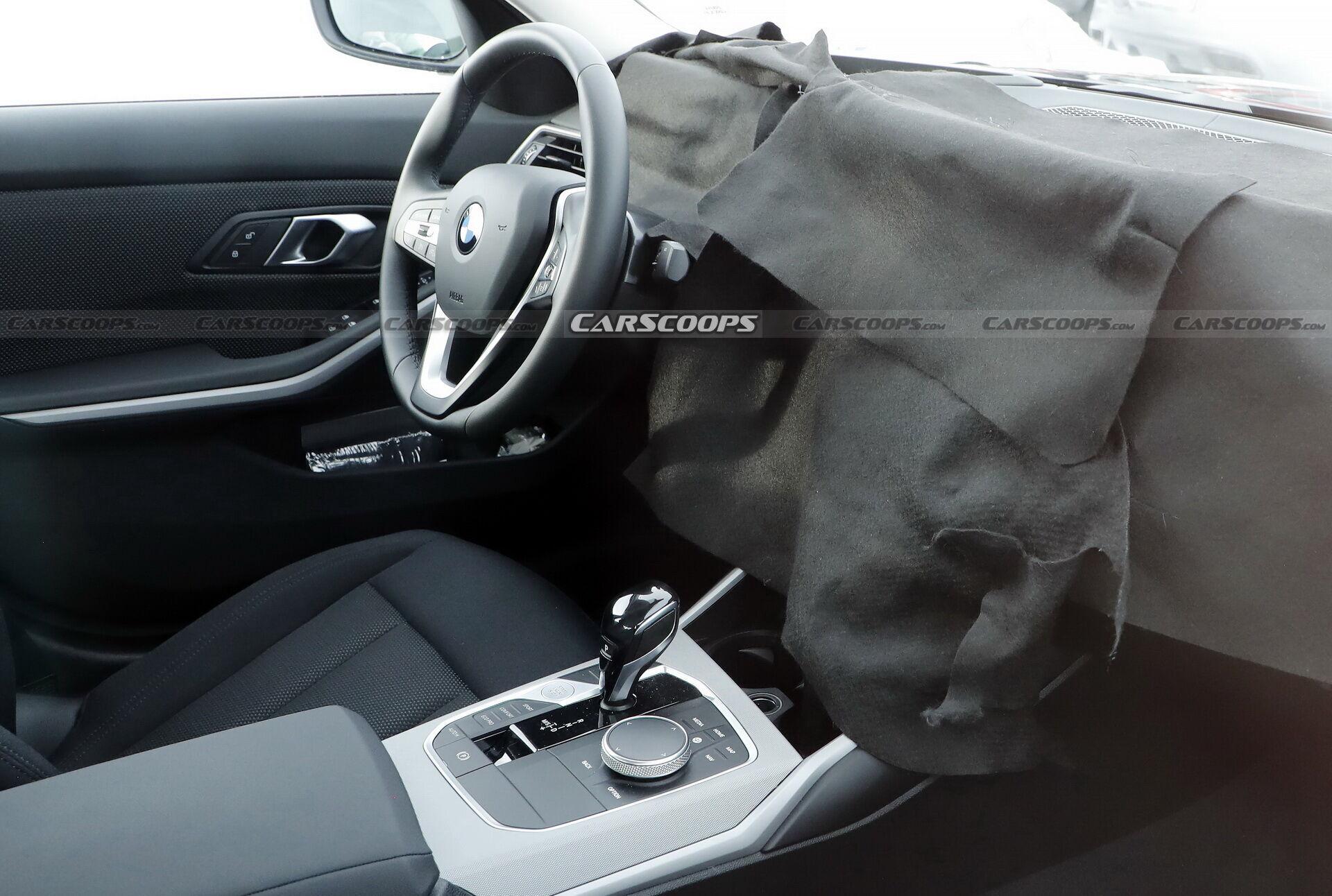 Обновленная панель приборов в BMW 3-Series