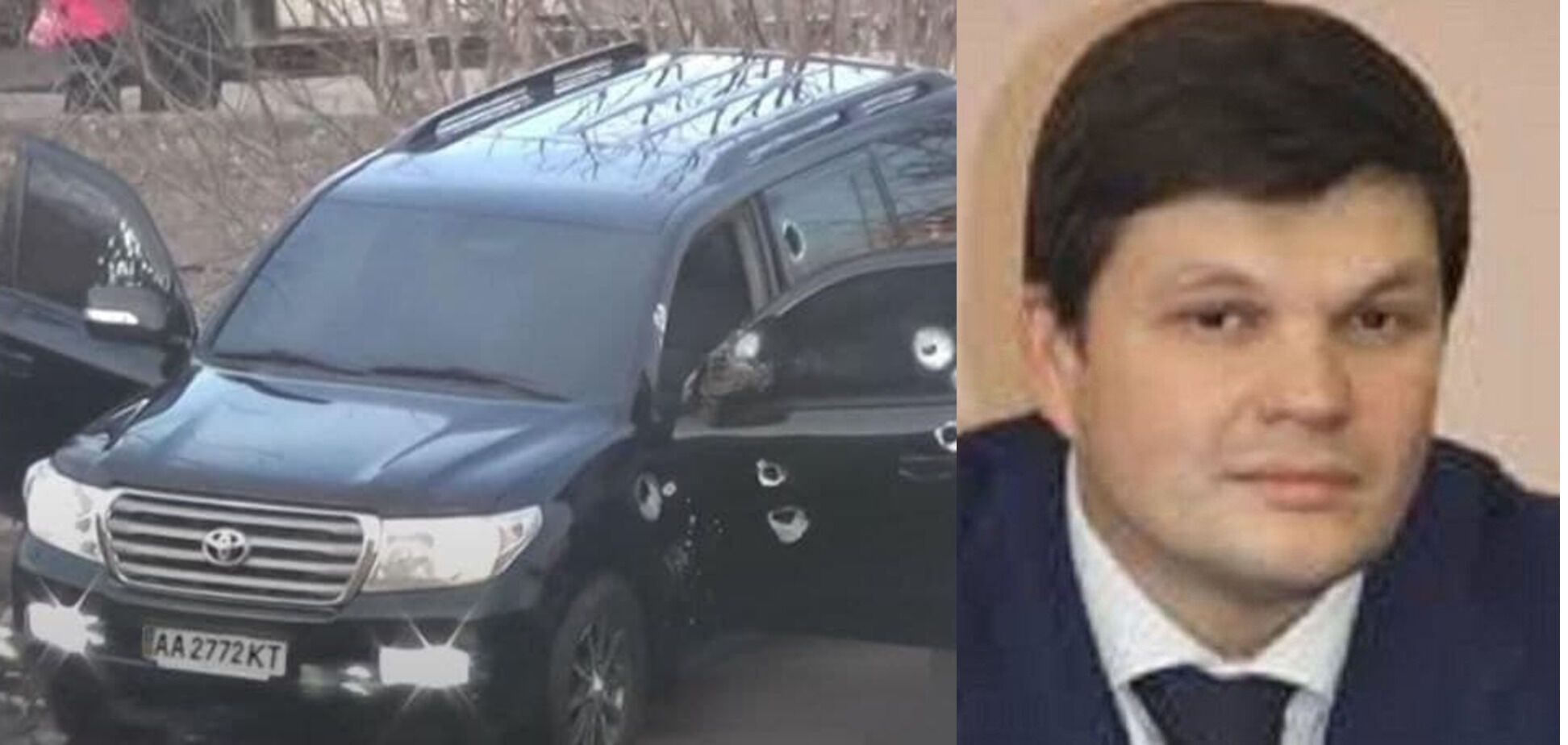 Авто якобы принадлежит Владимиру Вильчинскому.