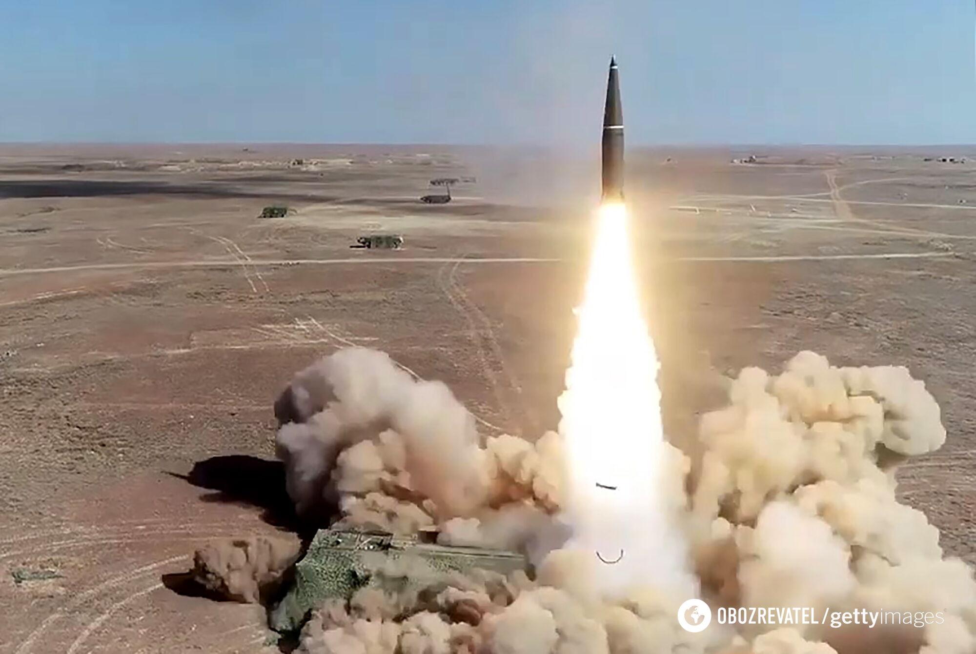 """Кроме """"Искандеров"""", у границ Украины размещены межконтинентальные ракеты."""