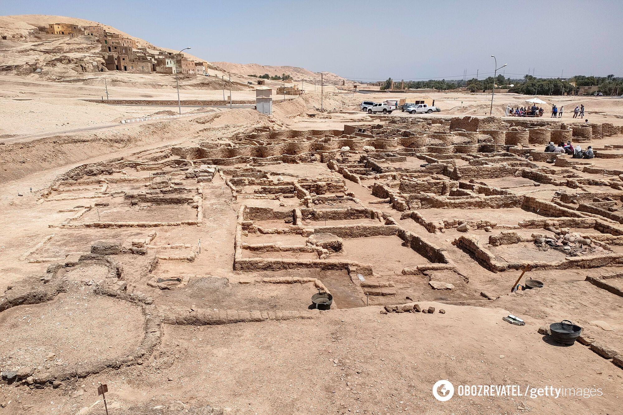 """""""Золотой город"""" стал вторым по значимости археологическим открытием после гробницы Тутанхамона"""