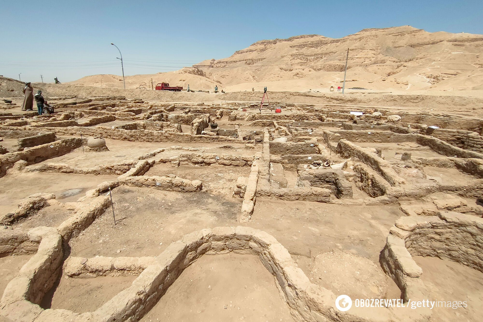 Руины 3000-летнего затерянного города египтян