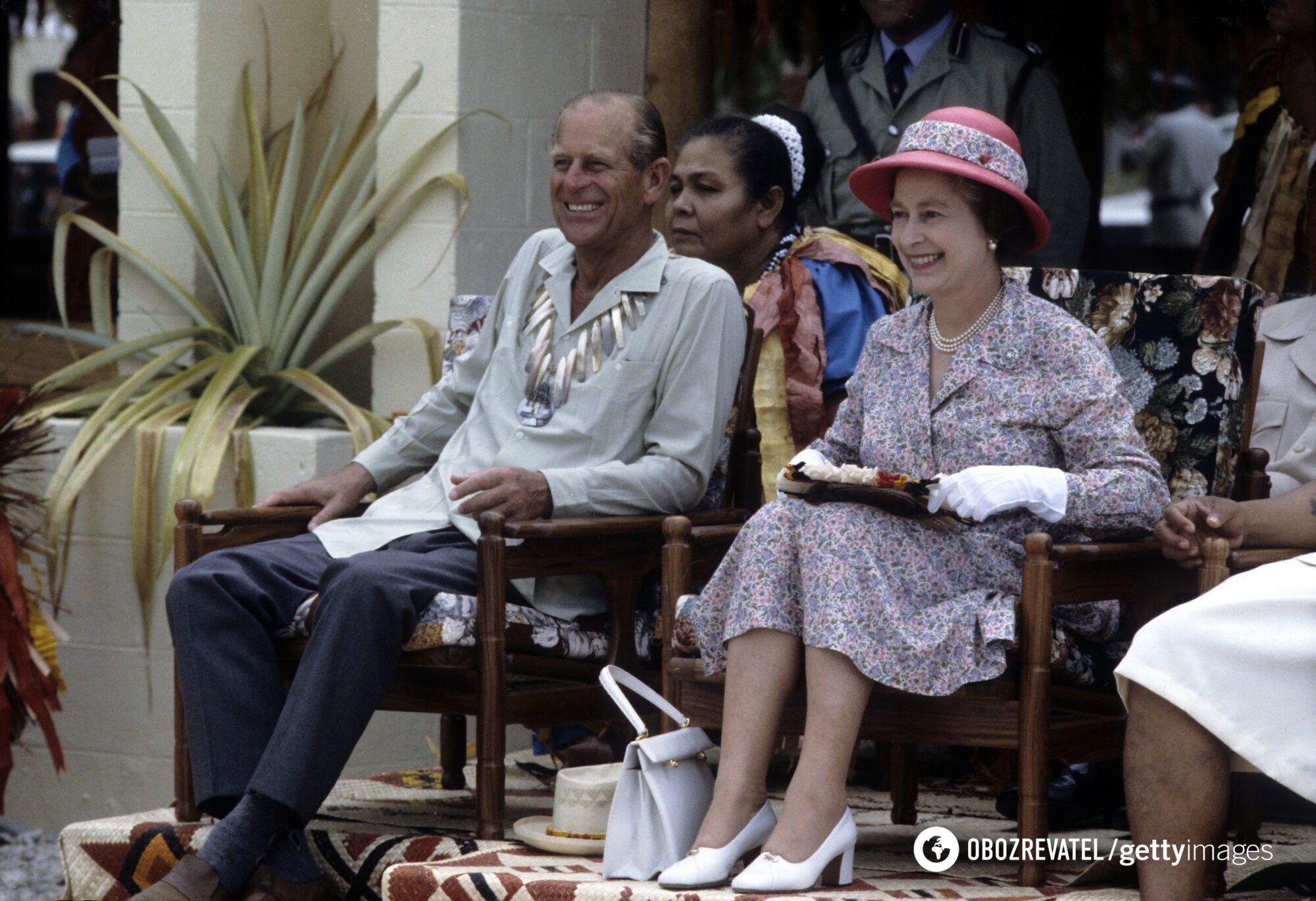 Принц Филипп преданно служил Британской монархии