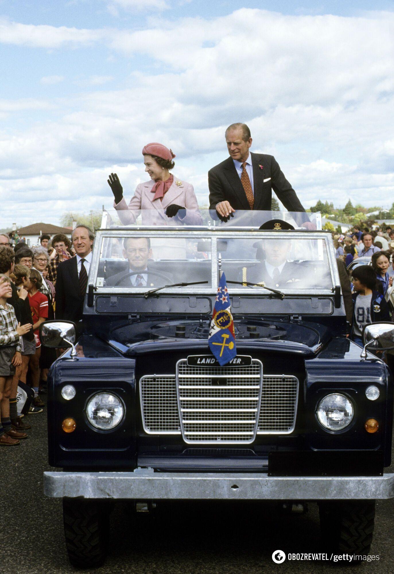 Принц Филипп активно занимался общественной деятельностью.