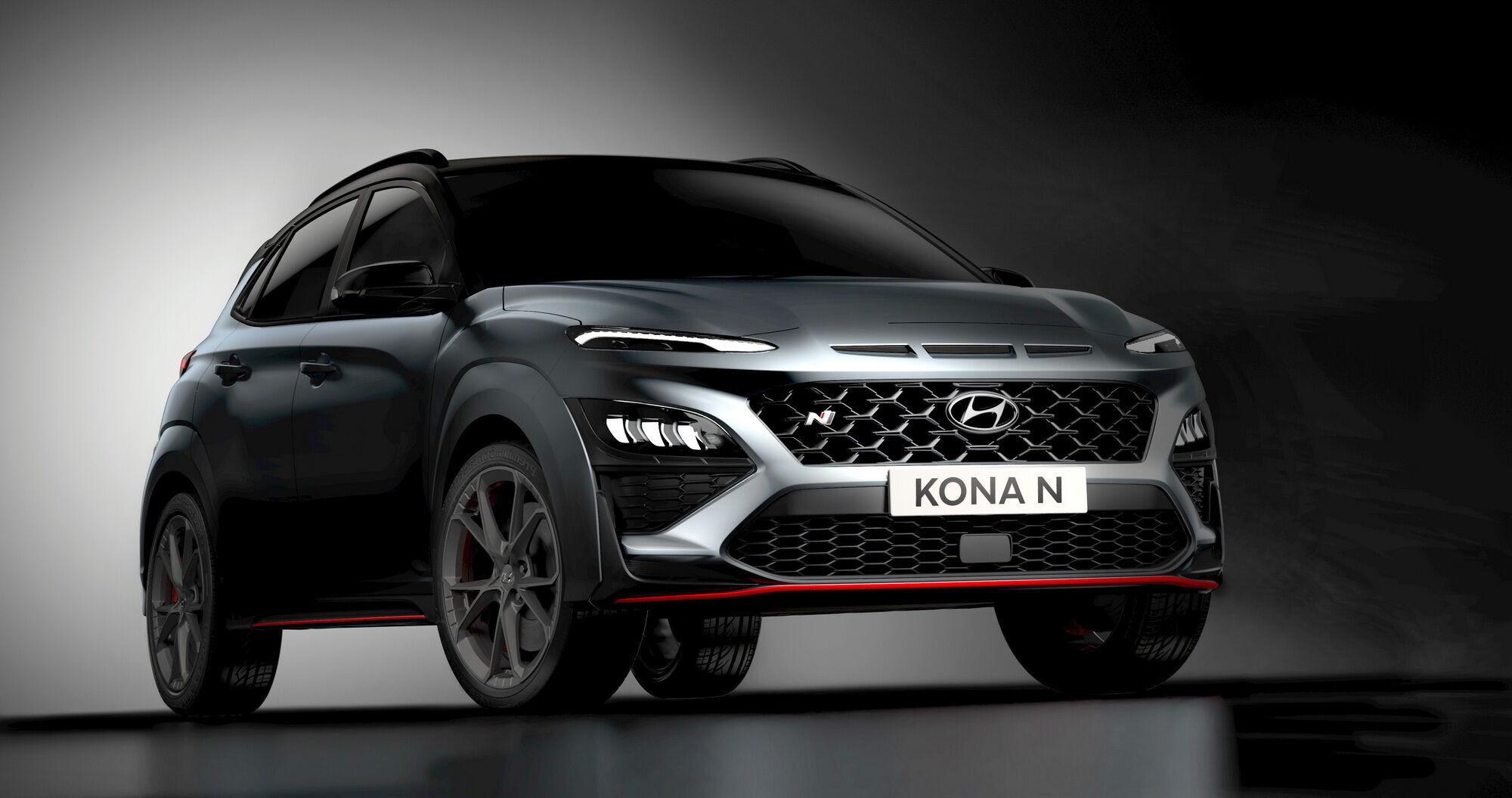 Кроссовер Kona N станет еще одним дополнением к семейству Hyundai N