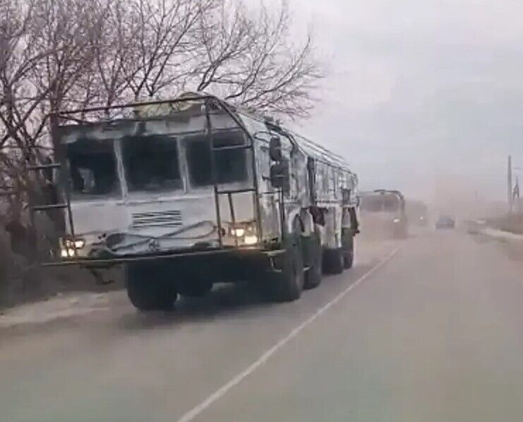 """""""Искандеры"""" в Воронежской области."""