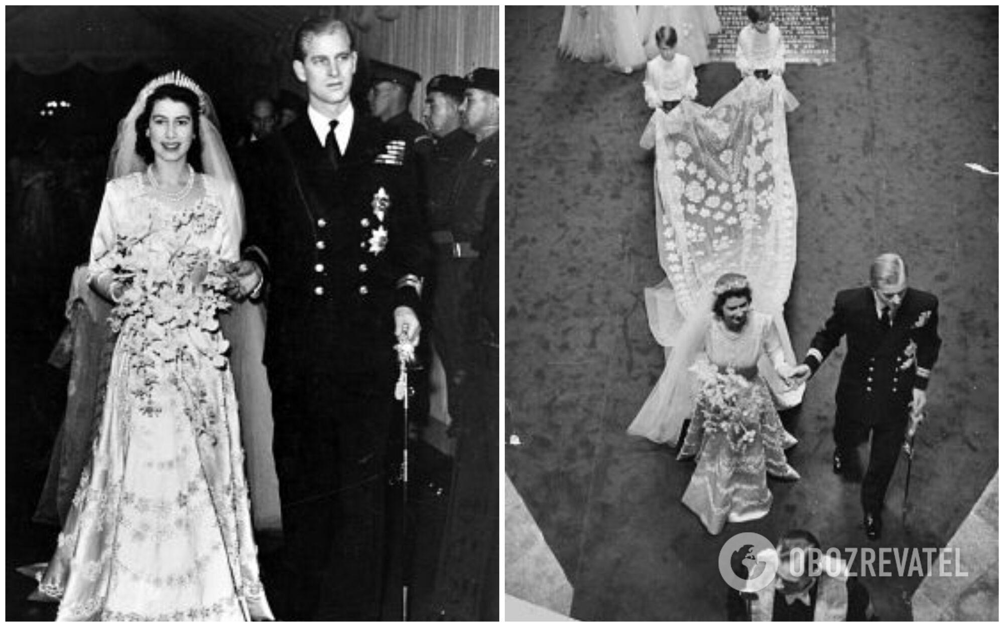 Платье Елизаветы стало самым богато украшенным на то время