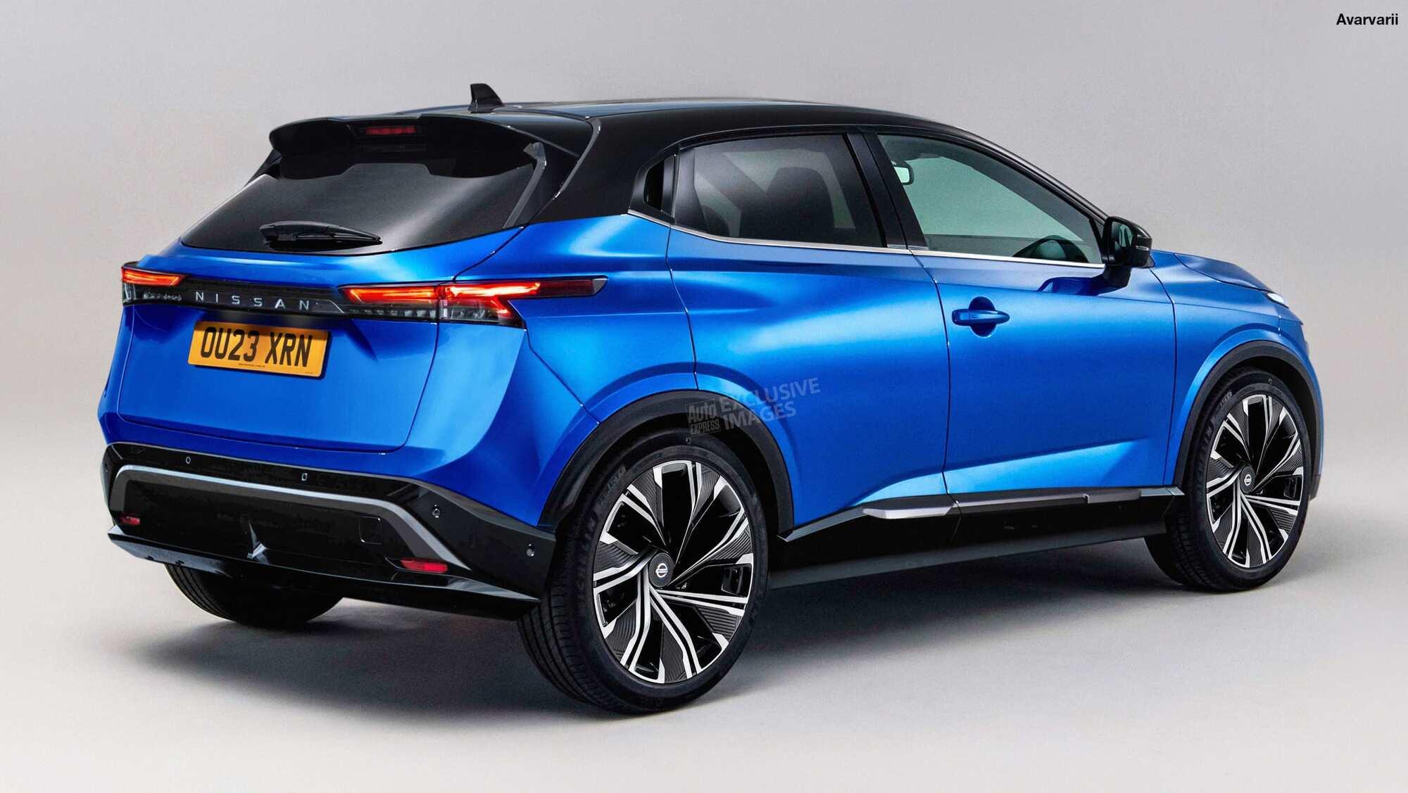 Возможный вид будущего внедорожника Nissan
