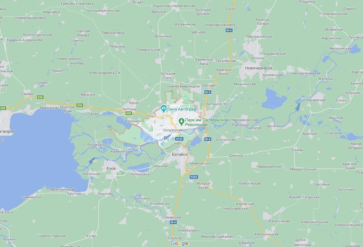 Авто обстреляли в Ростове-на-Дону.