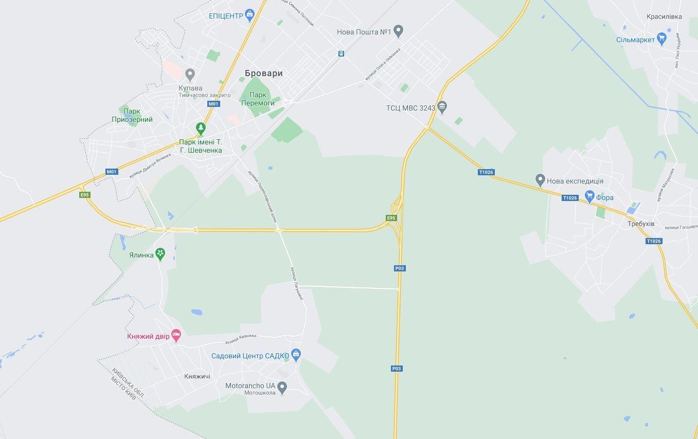 ДТП сталась на Броварській окружній дорозі.