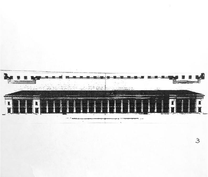 Нереалізований проєкт Гостиного двору – автор Луїджі Руска, поч. XIX ст.