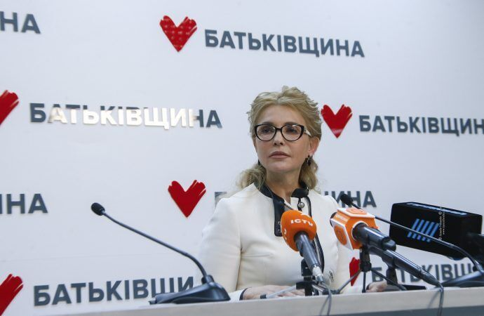 """""""Батьківщина"""" стає пліч-о-пліч з народом, щоб допомогти висловити свою волю, наголосила Тимошенко"""