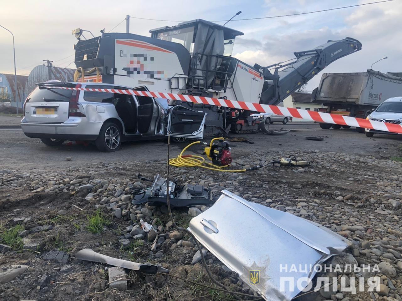 На автодороге, где произошло ДТП, проводили ремонтные работы