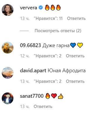 Коментарі шанувальників