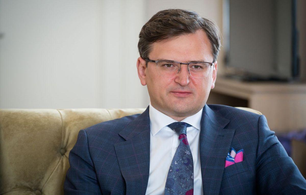 Міністр закордонних справ Дмитро Кулеба
