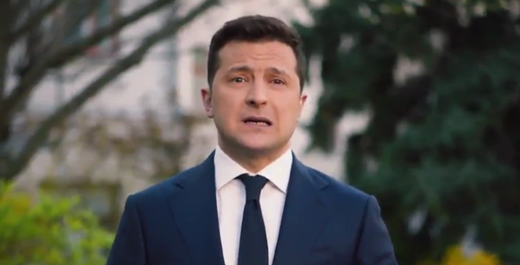 Володимир Зеленський записав відеопривітання для українців