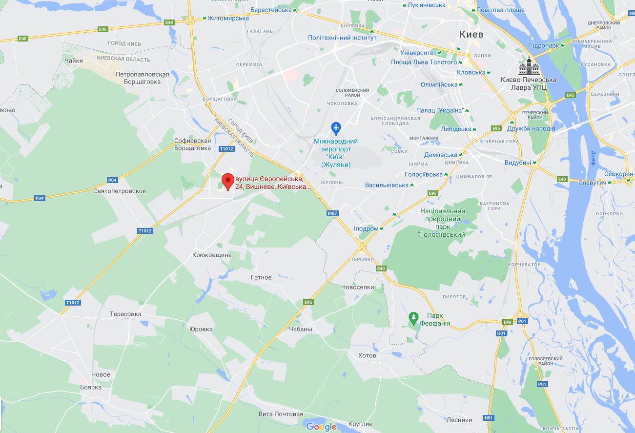 Авария произошла в Вишневом.