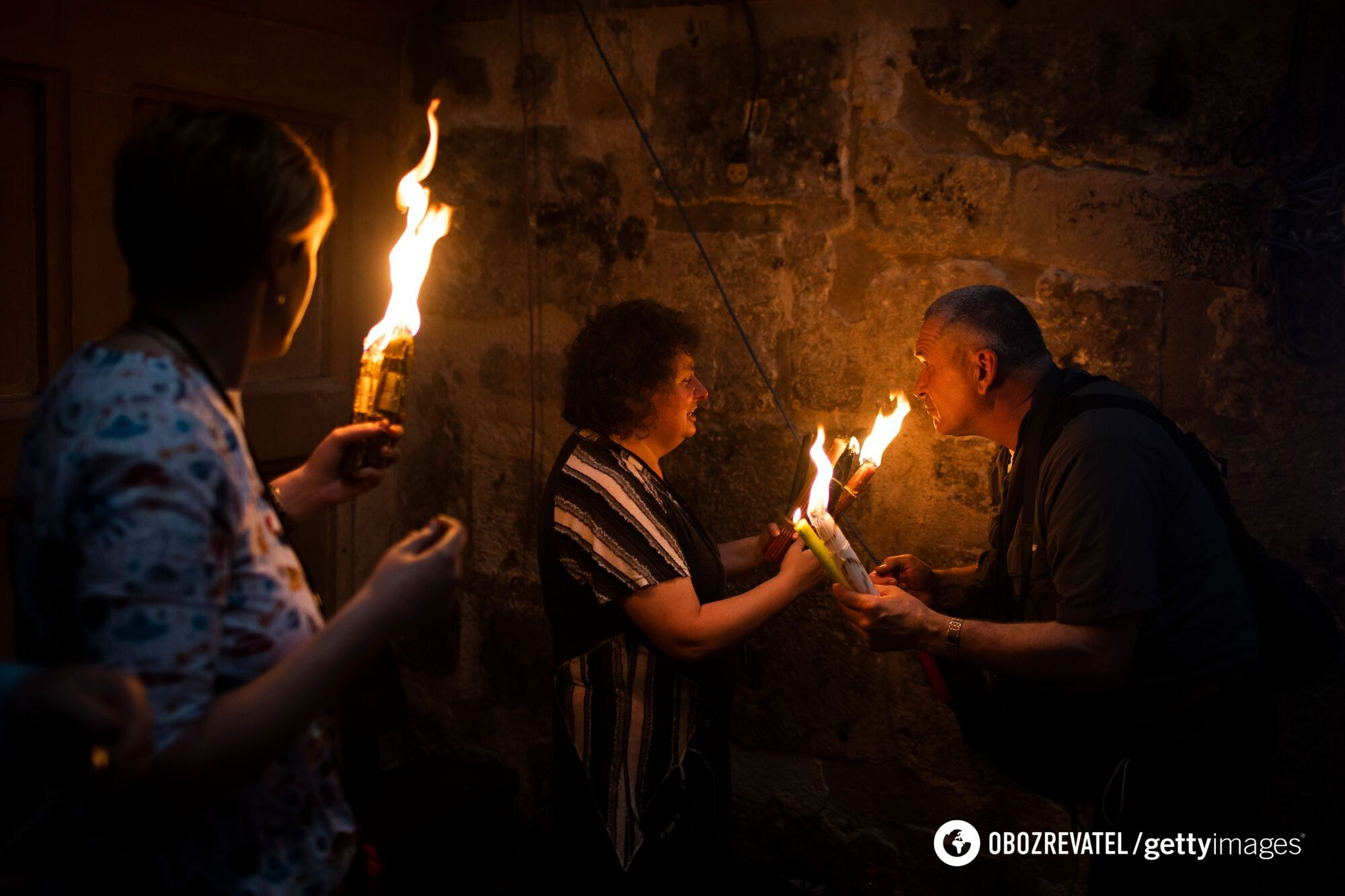 У Єрусалимі зійшов Благодатний вогонь