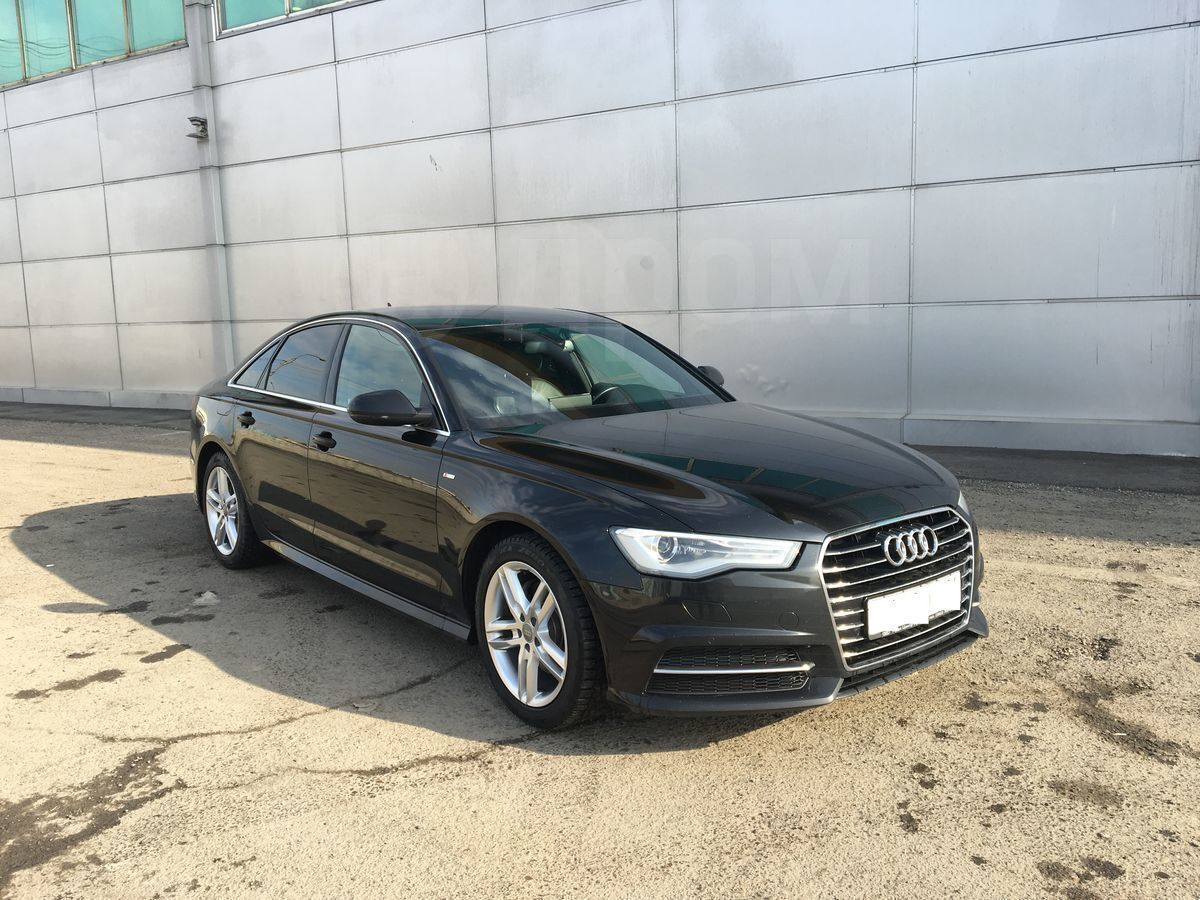 Як виглядає машина марки Audi A6 2015 року