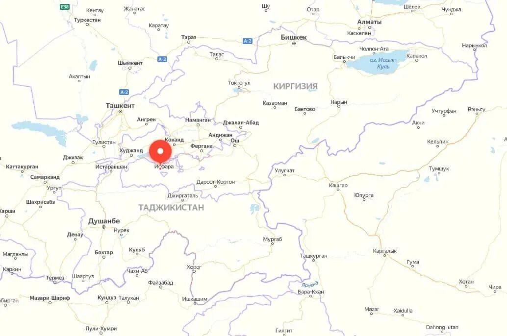 Ескалація конфлікту між Таджикистаном і Киргизстаном