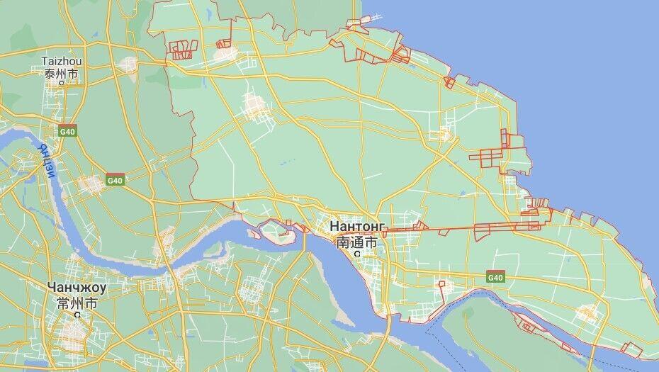 Наньтун став одним із найбільш постраждалих від урагану міст