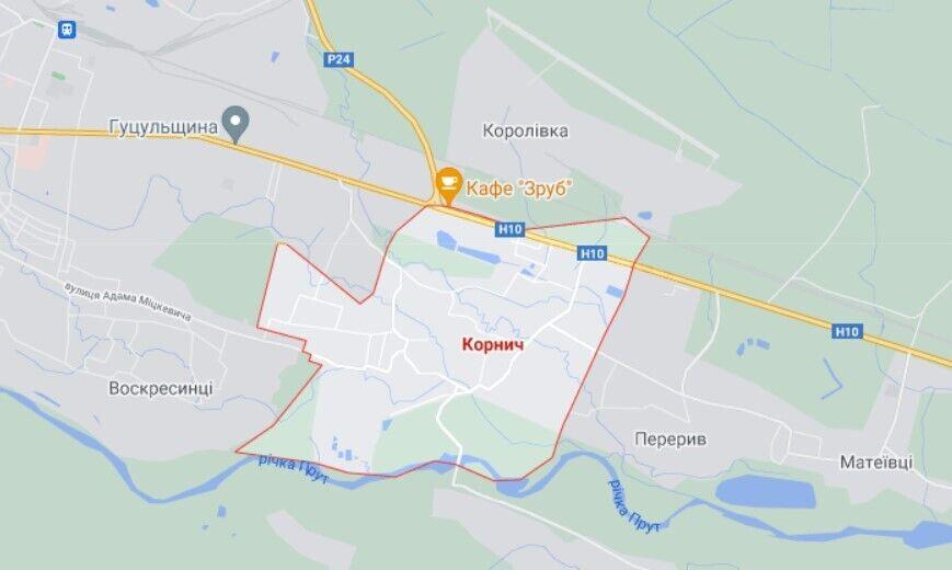 ДТП трапилася в селі Корнич на Прикарпатті