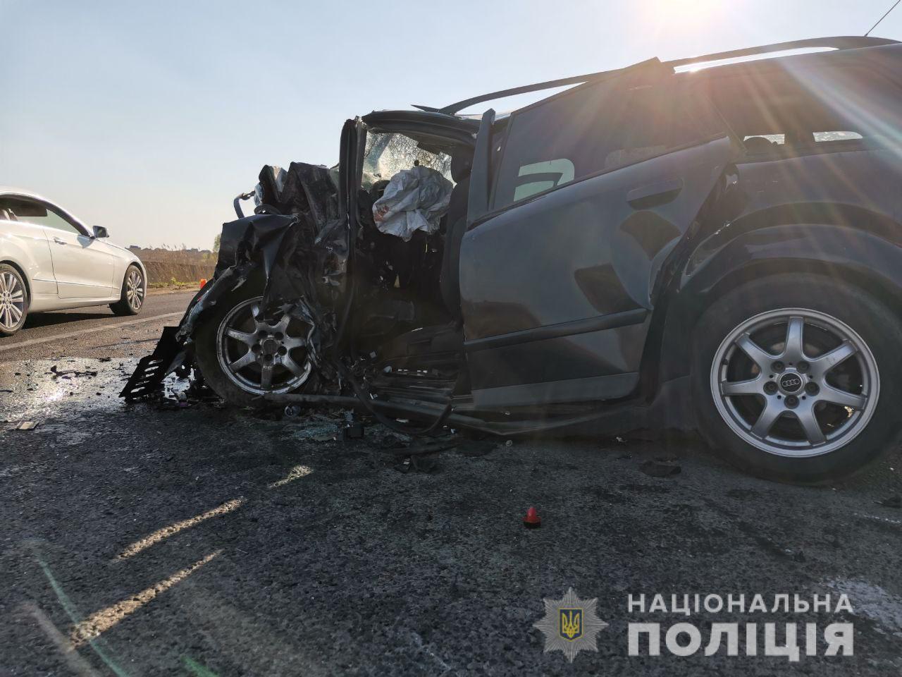 В аварії загинули три людини.