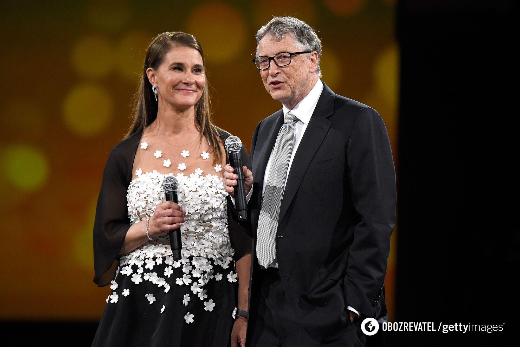 Мелінда Гейтс і Білл Гейтс у 2018 році