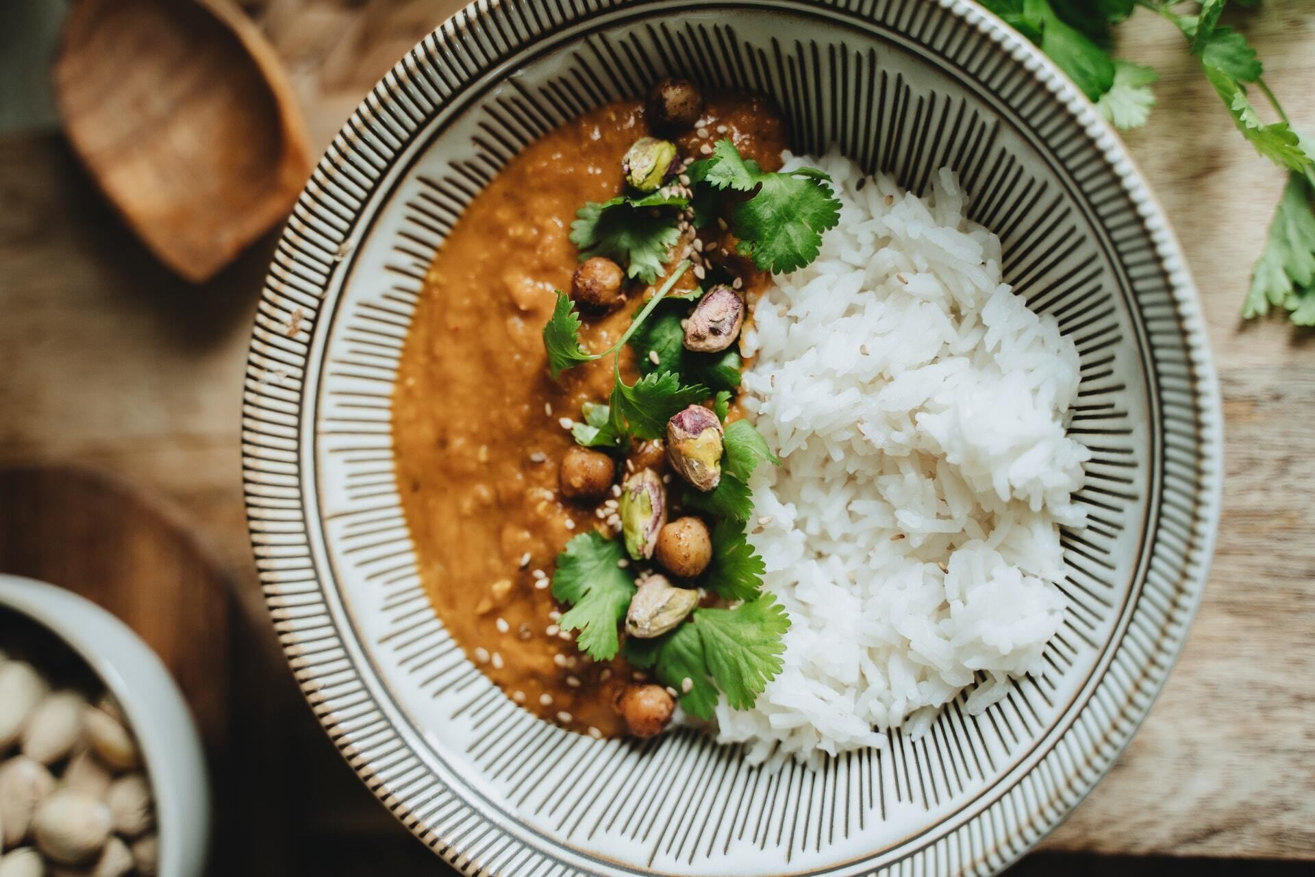 Рис можна приправити будь-якими приправами на ваш смак