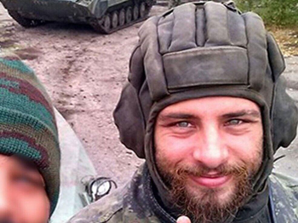 """Терорист """"Л/ДНР"""" Рафаель Лусгварі."""