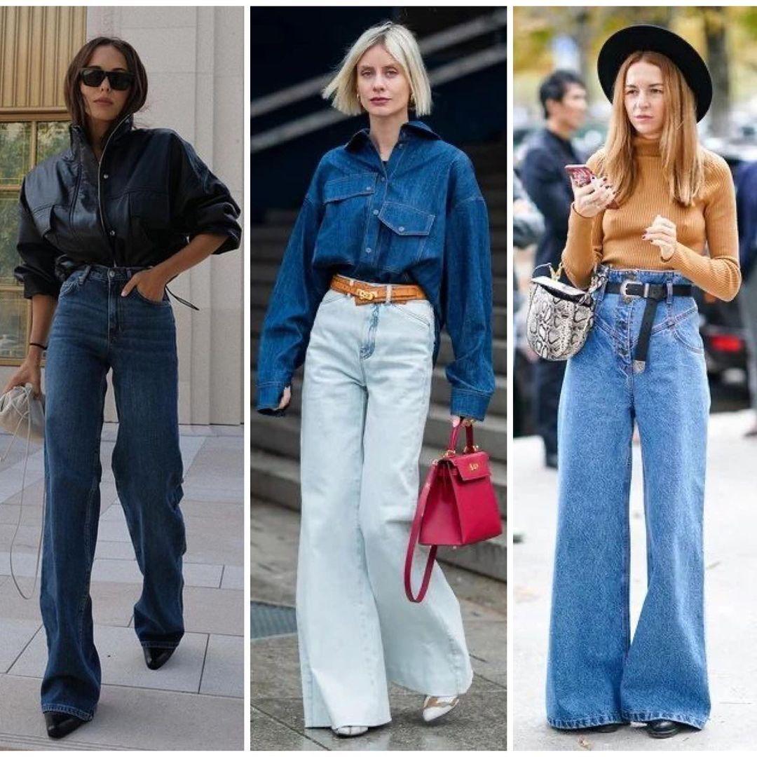 Коли купуєте широкі джинси, необхідно обирати більш м'який денім