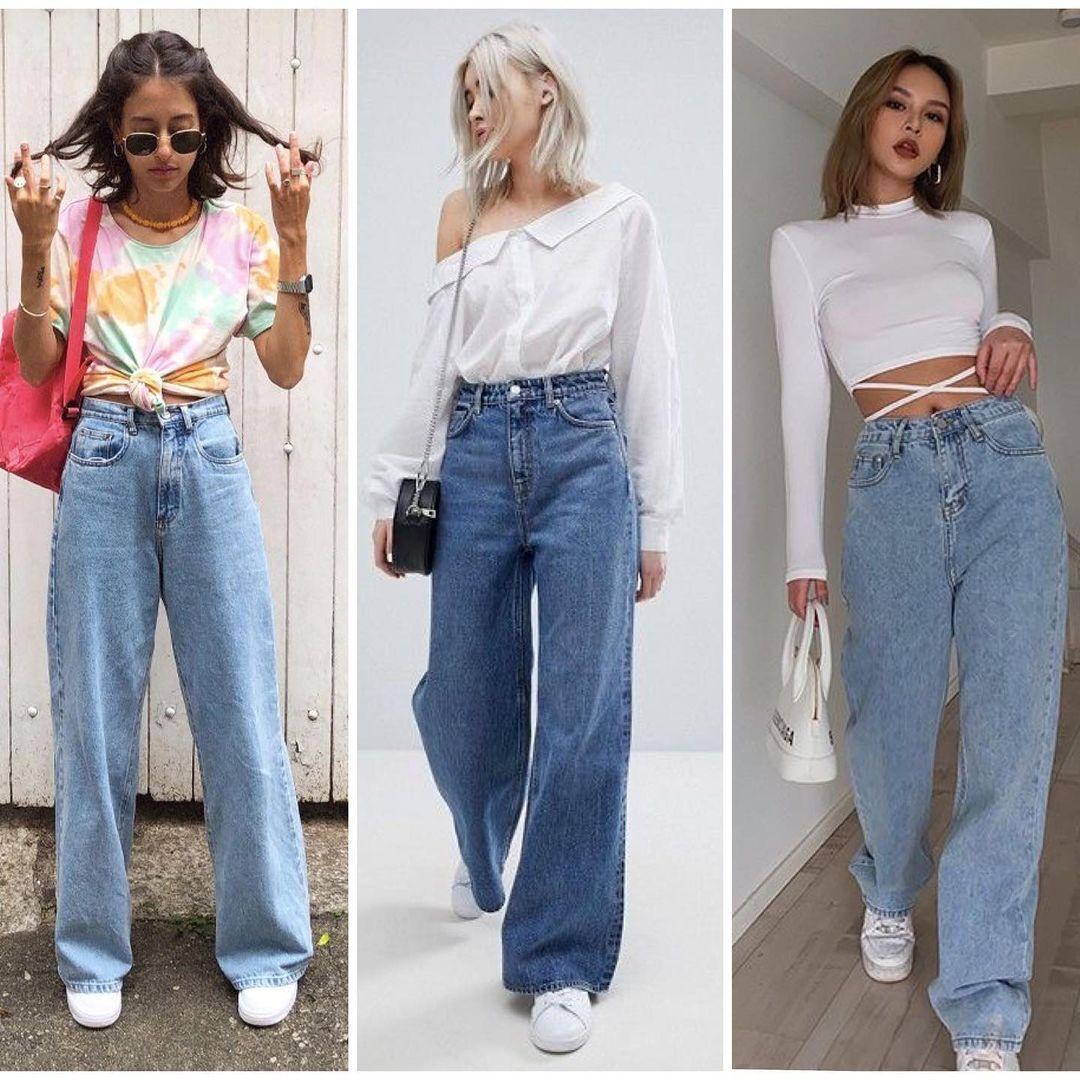 На піку популярності будуть широкі джинси