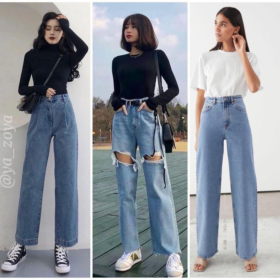 Широкі джинси у 2021 році будуть у тренді