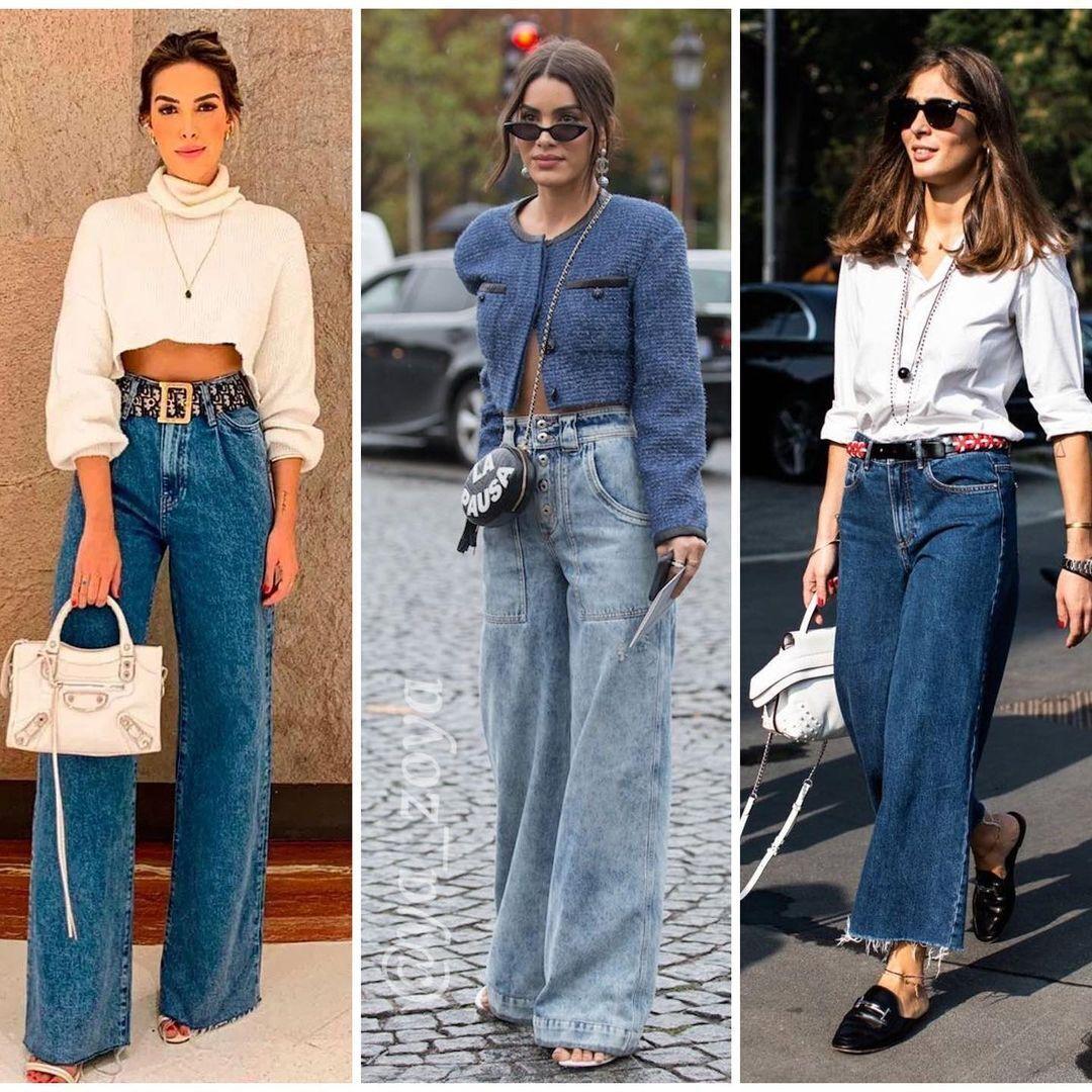 Моделей широких джинсів дуже багато