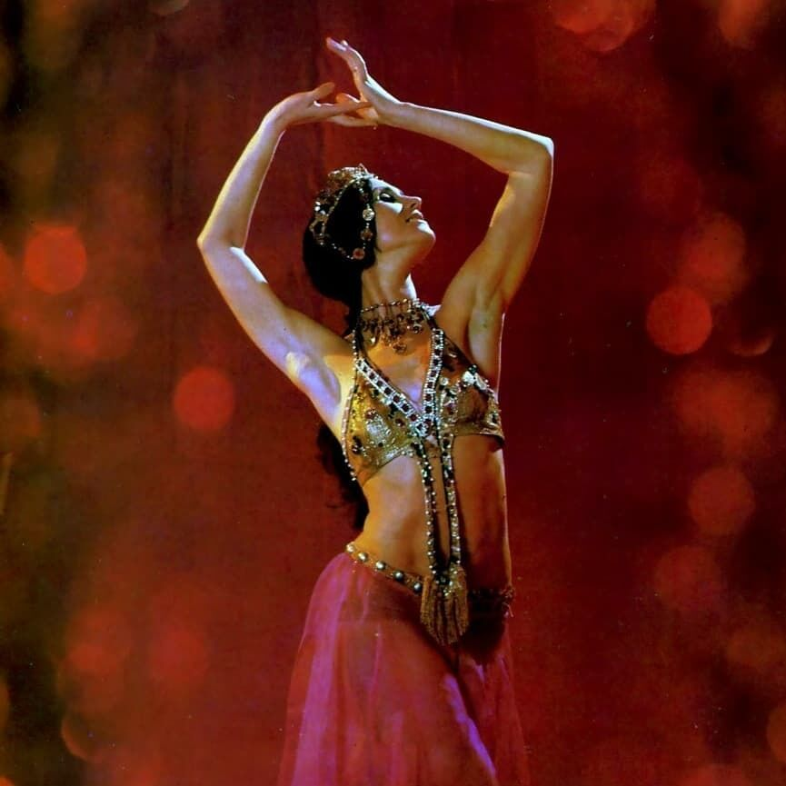 Фотограф запечатлел балерину 1970-х годов