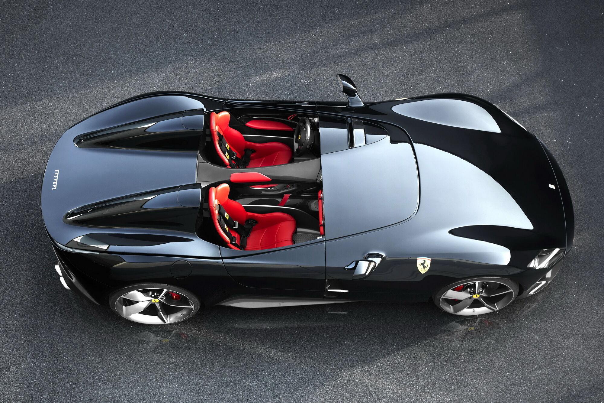 Ferrari Monza SP2 дебютував у 2018 році