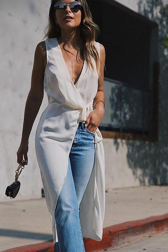 Як носити сукню поверх штанів