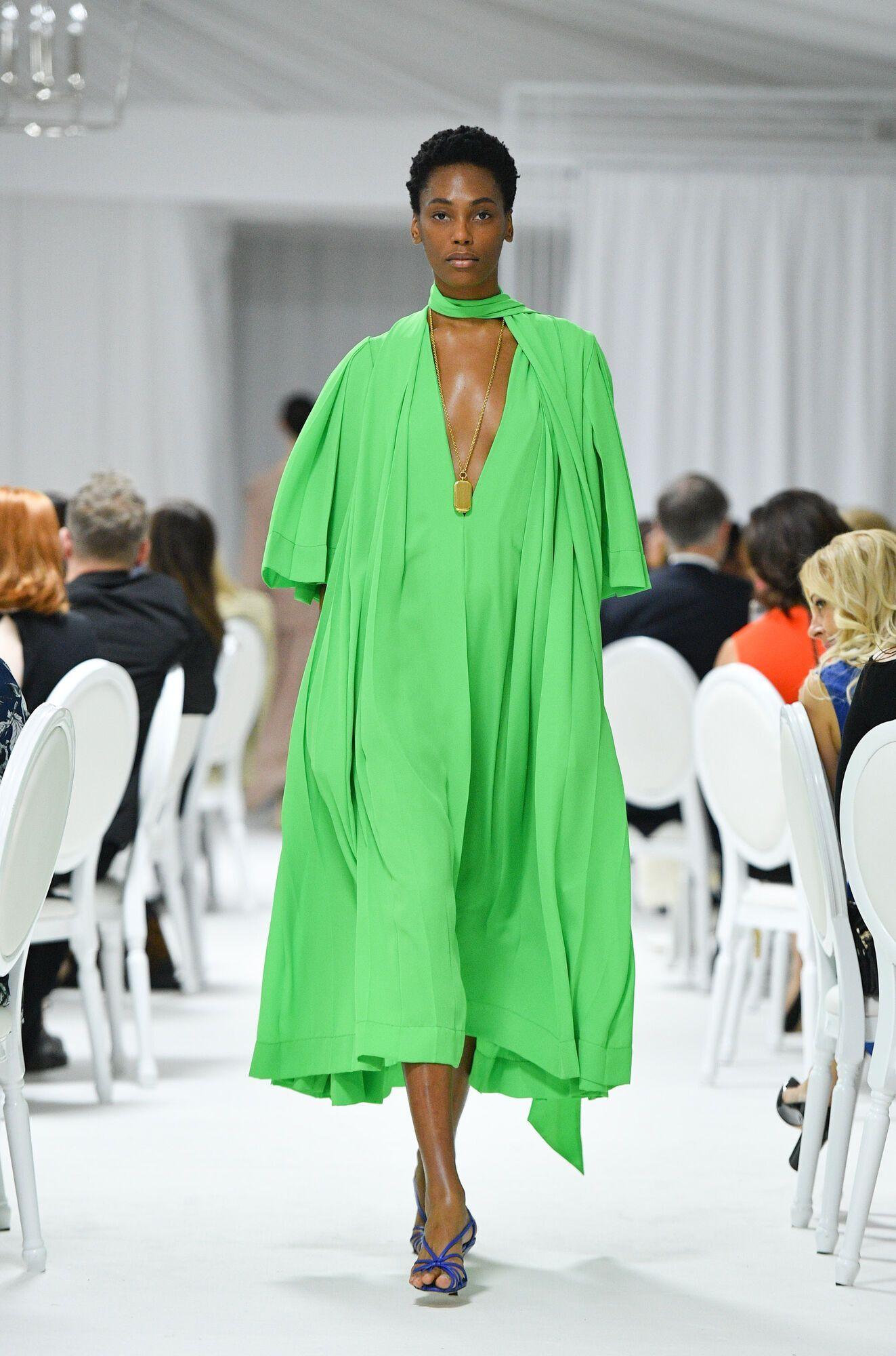 Сочный зеленый