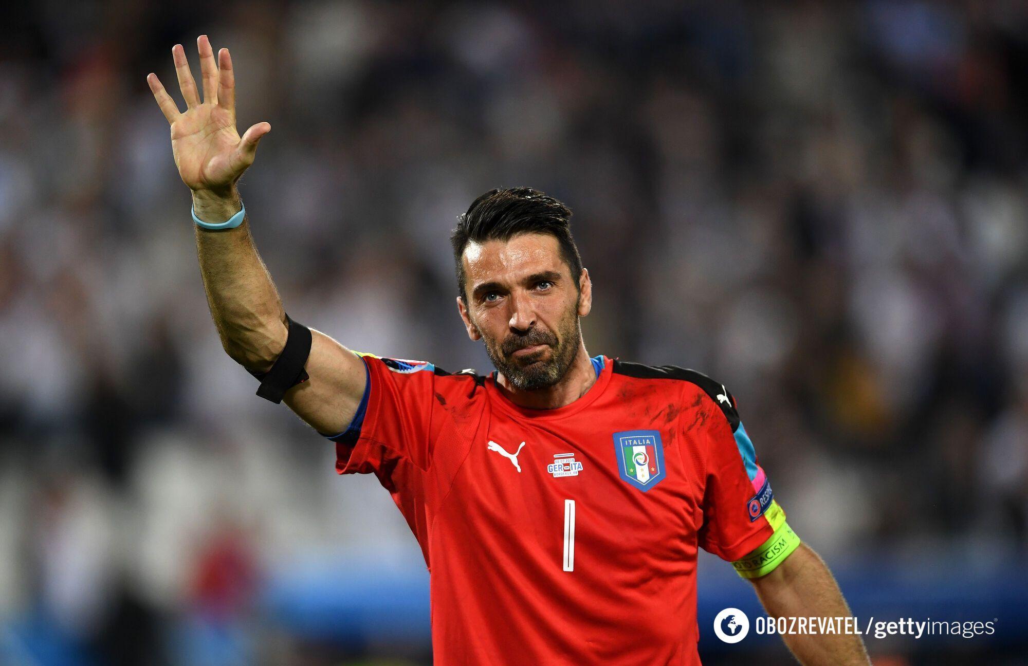 Джанлуиджи Буффон в составе сборной Италии