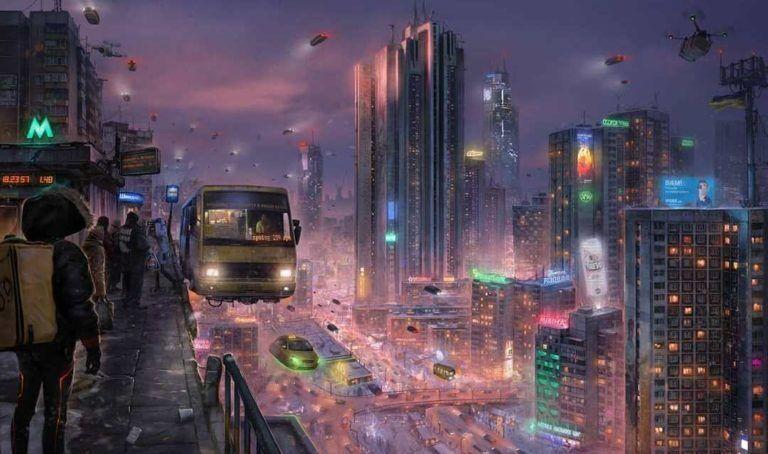 Позняки в 2077 году.
