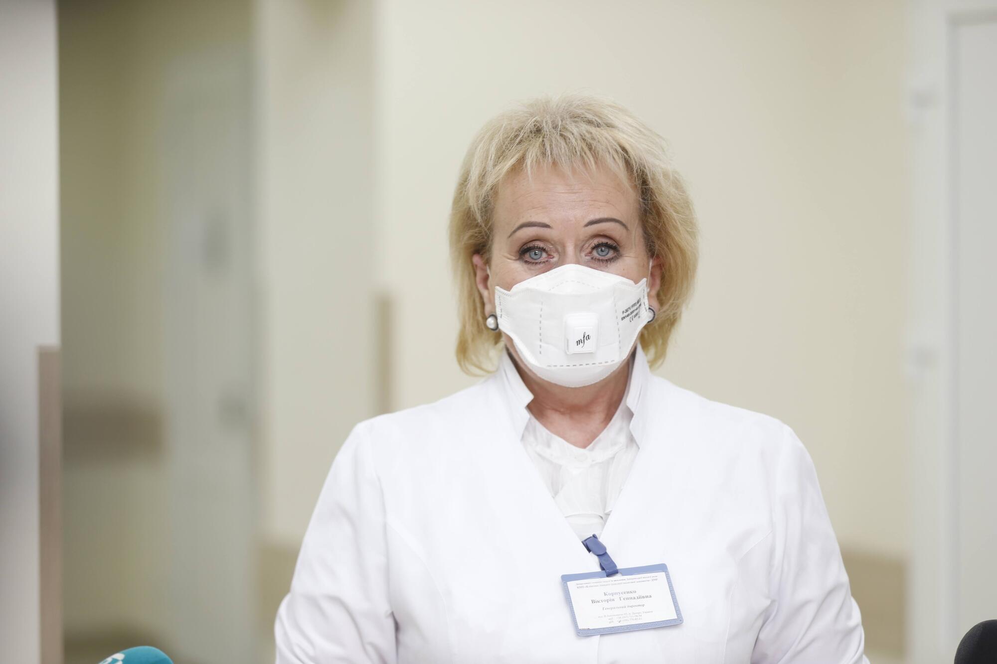 Виктория Корпусенко отметила, что ремонтные работы уже завершены