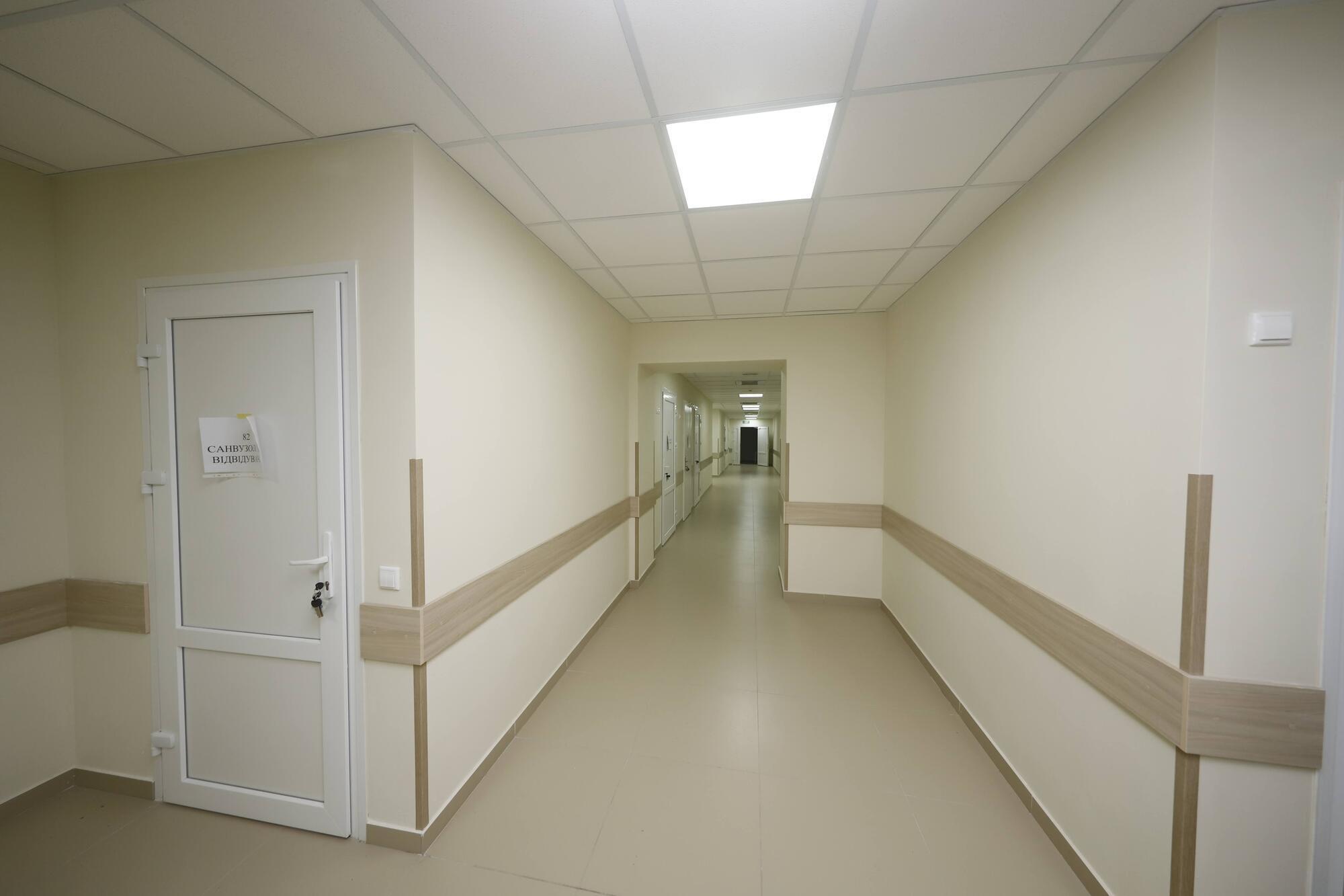 Новое отделение будет иметь комфортные условия для пациентов и медицинского персонала