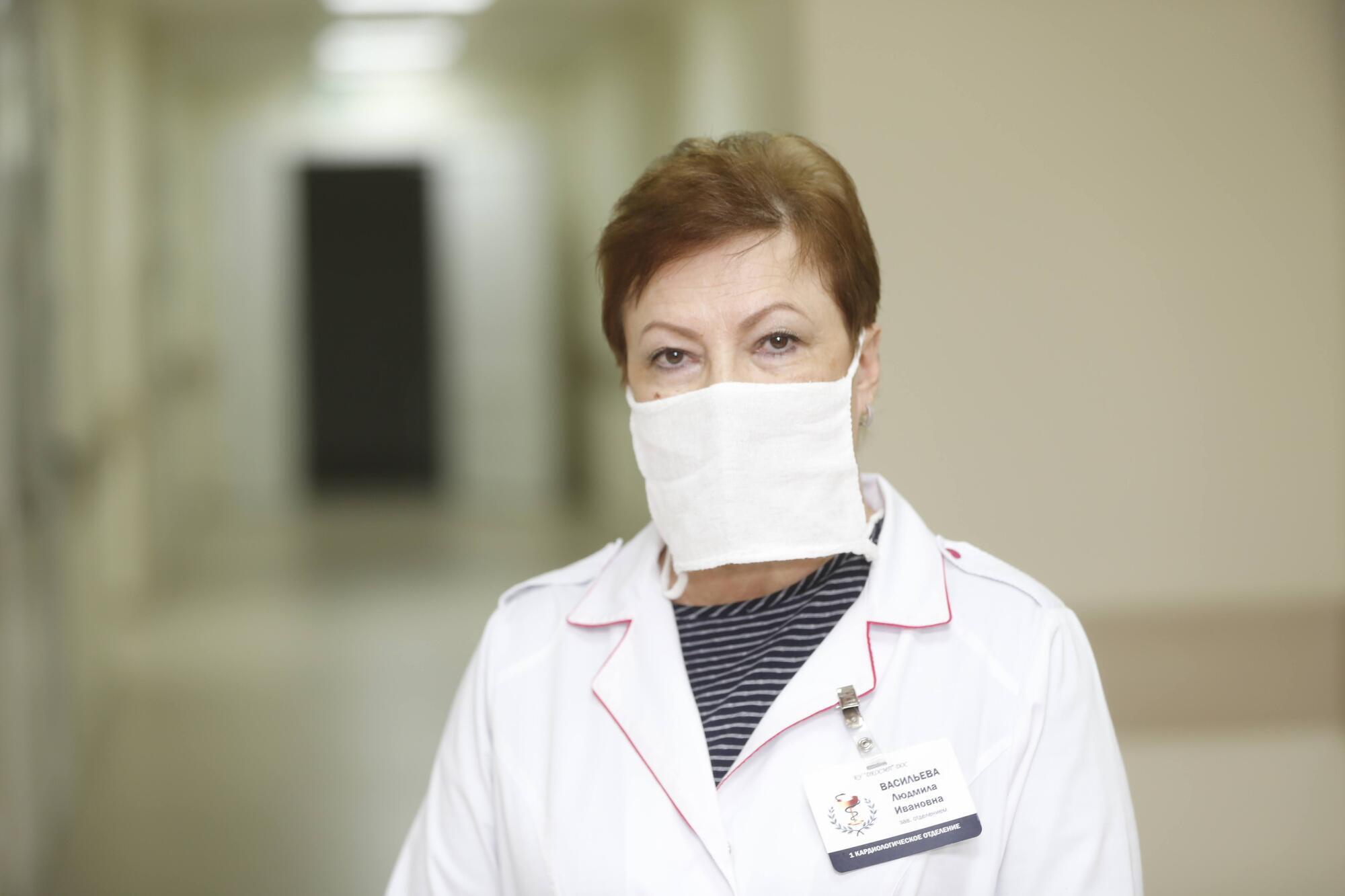 Людмила Васильева рассказала, что персонал больницы с нетерпением ждет открытия отделения