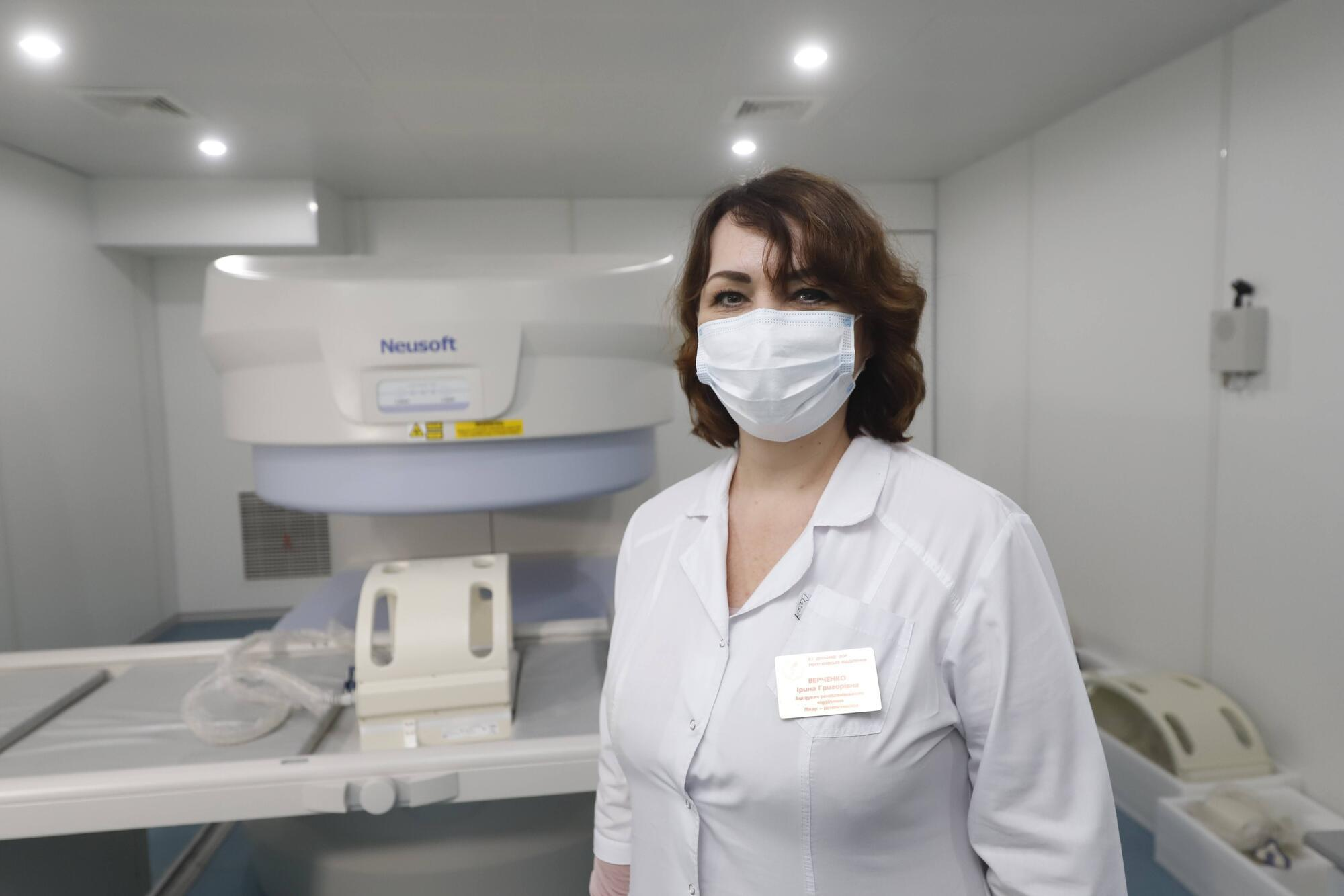 Ирина Верченко заметила, что современное оборудование позволит качественно проводить диагностику