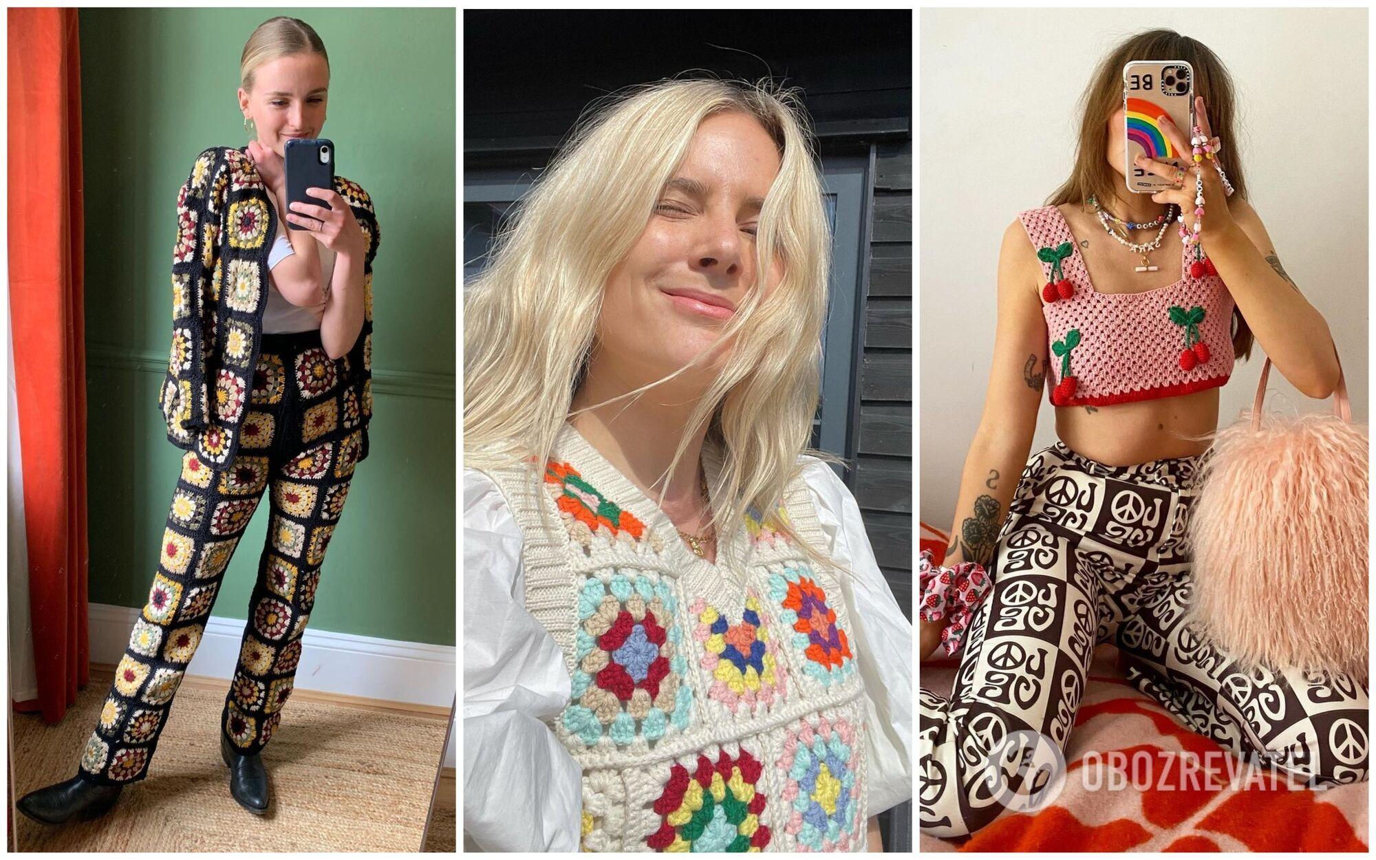 Мода на в'язані речі сподобається тим, хто обожнює ретро-стиль.
