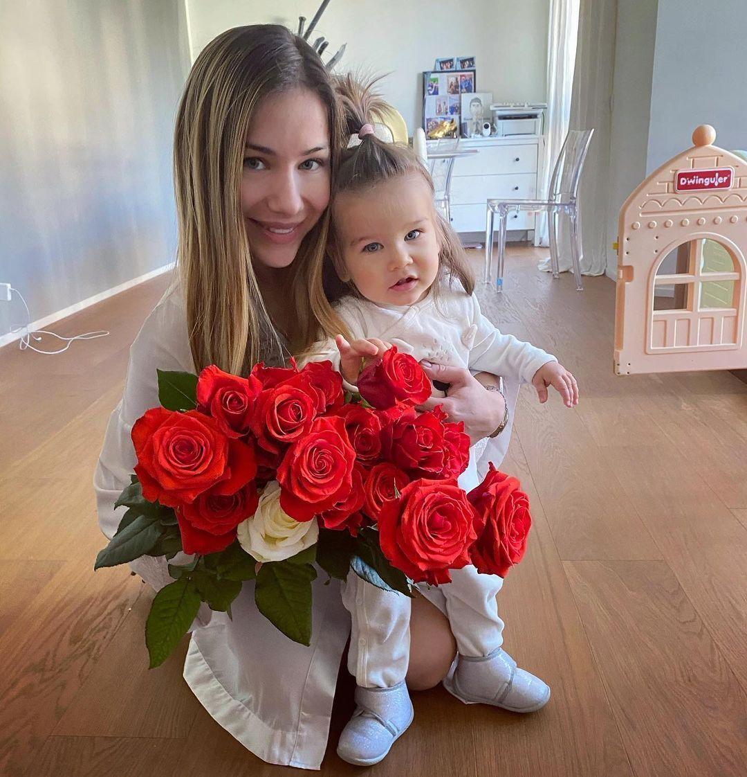 Роксана Малиновская и ее дочь Оливия