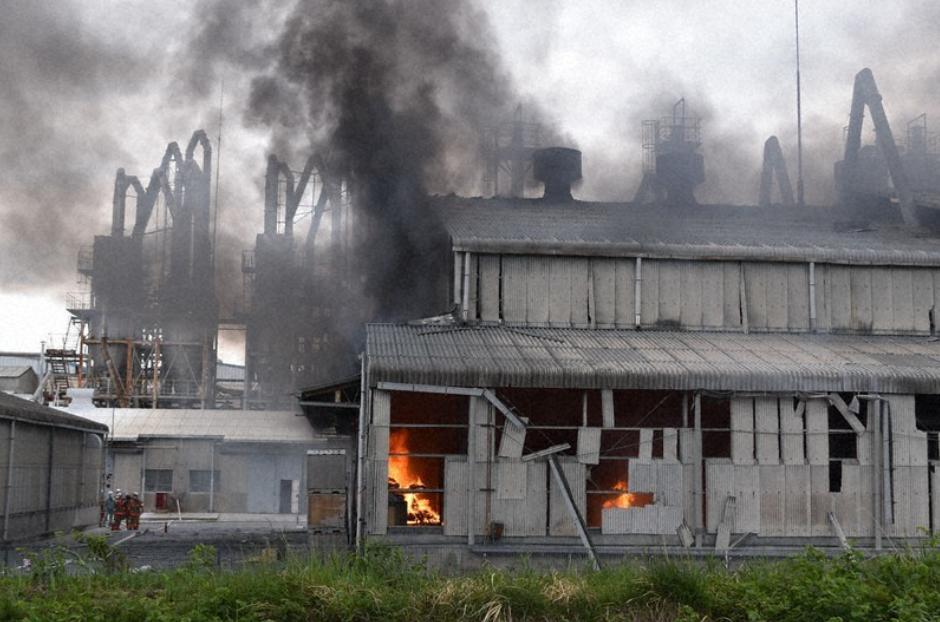В Японии произошел взрыв на химическом заводе, есть пострадавшие