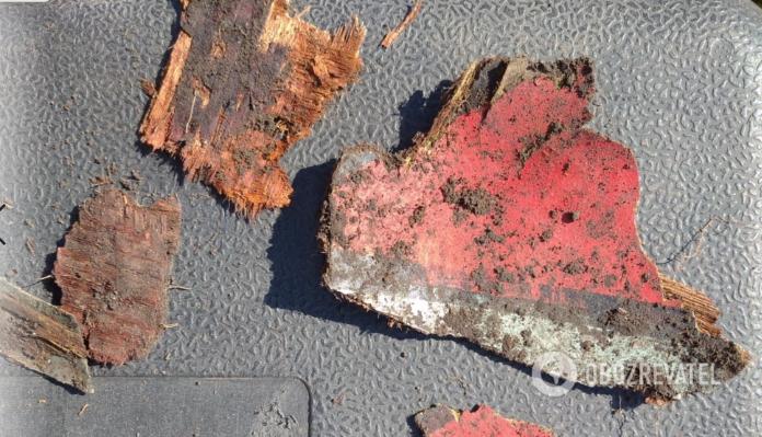 Под Днепром нашли останки самолета Второй мировой войны.